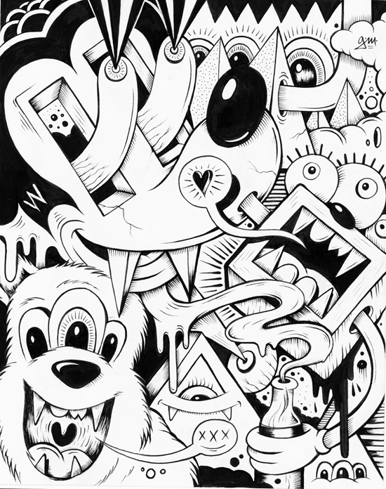 550x696 Drink +doodle 19