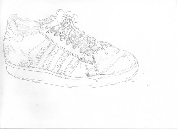 Adidas Drawing Shoes