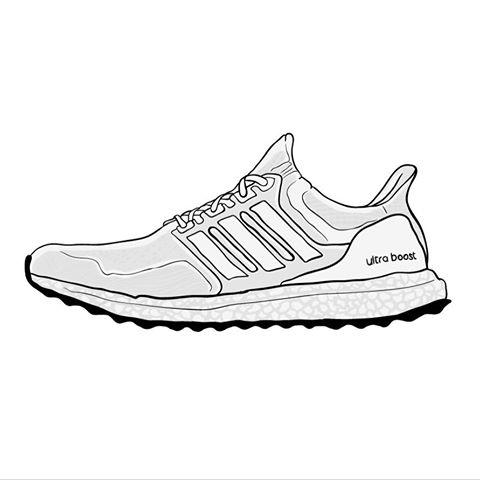 Adidas Ultra Boost Drawing