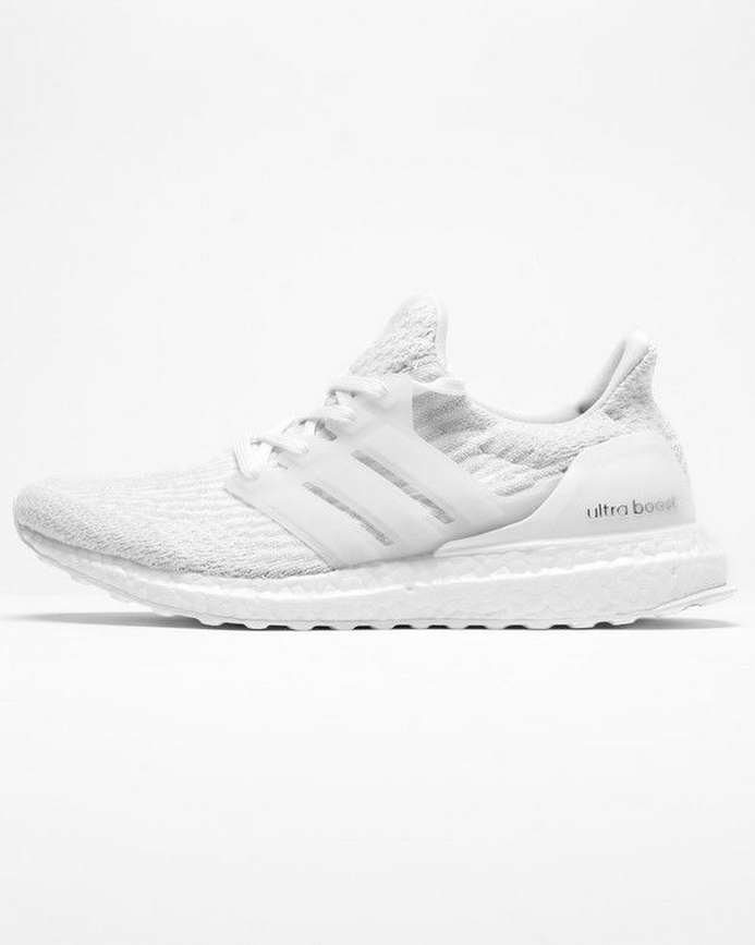 e4b72b20970ae 693x867 Adidas Ultraboost 3.0 Triple White Ba8841 Ultra Boost Mens Running