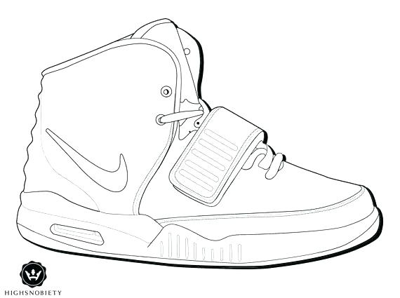 570x425 Jordan 12 Coloring Pages Running Shoes Coloring Pages Running