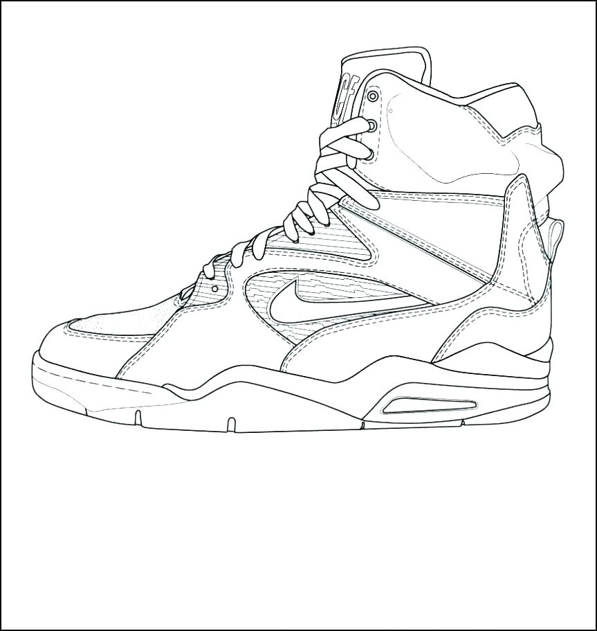 863x911 Air Jordan Coloring Pages Lovely Shoe Page Fun Time Beautiful Best