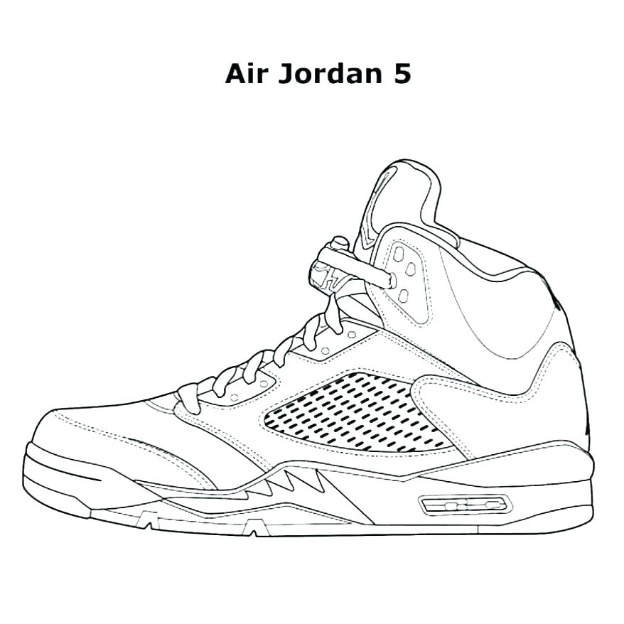 878x878 Air Jordan Shoes Coloring Pages Air Shoes Coloring Pages To Learn