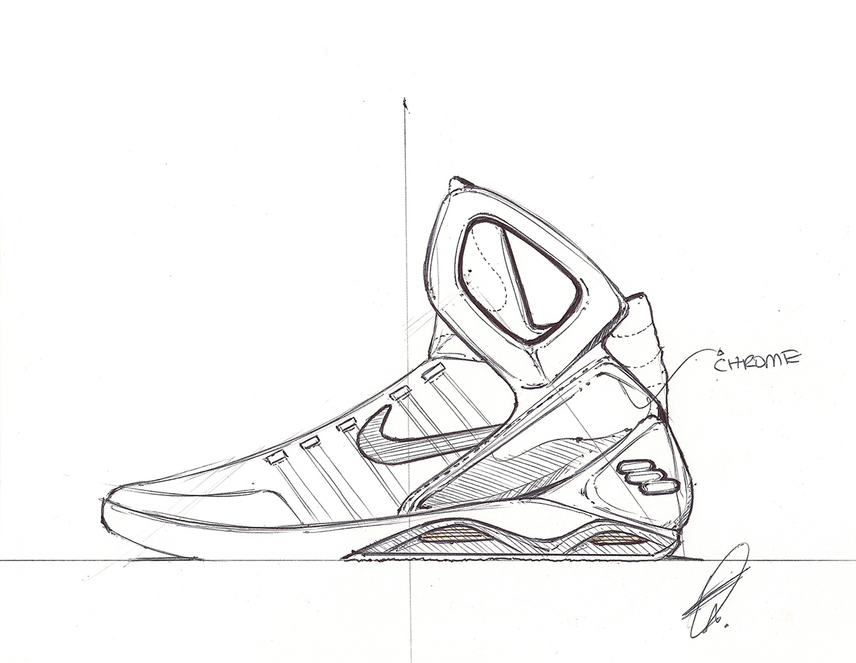 Air Mag Drawing