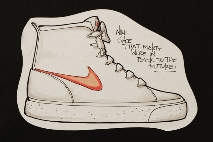700x468 These Are Tinker Hatfield's First Sketches Of The Nike Mag