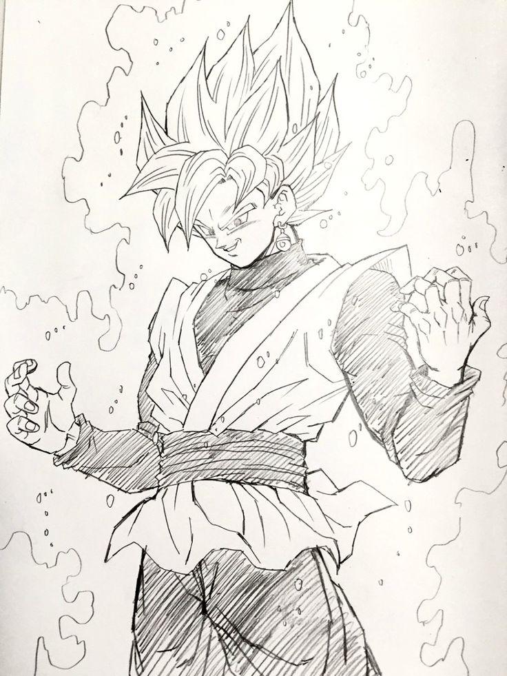 Akira Toriyama Drawing Goku
