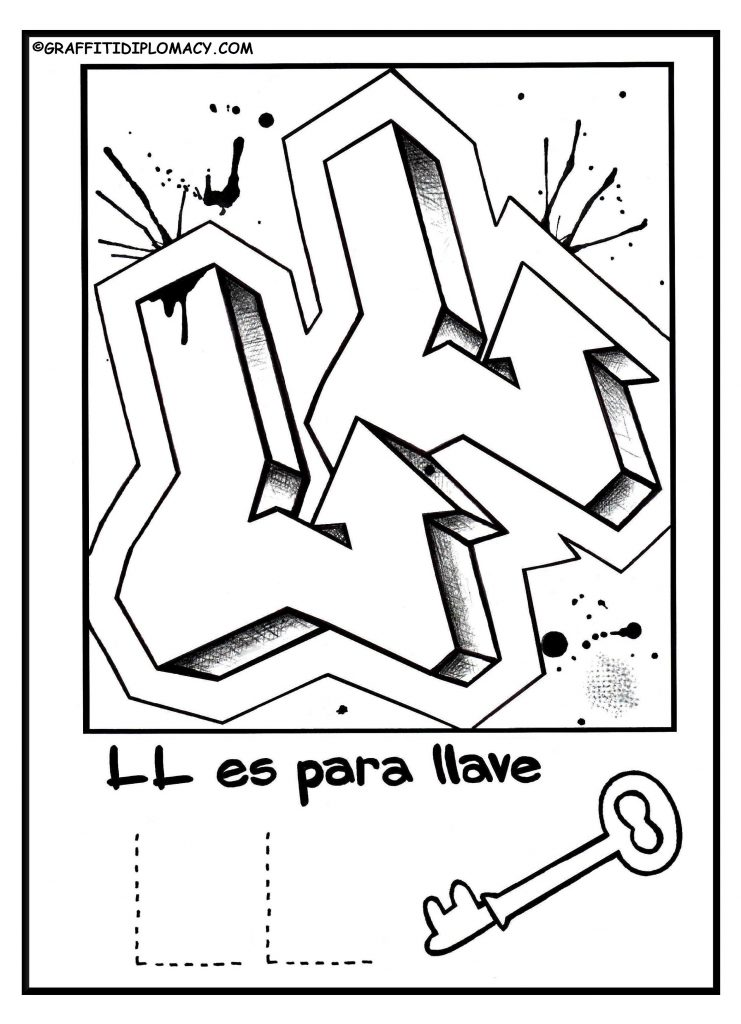 741x1024 Spanish Alphabet Coloring Pages
