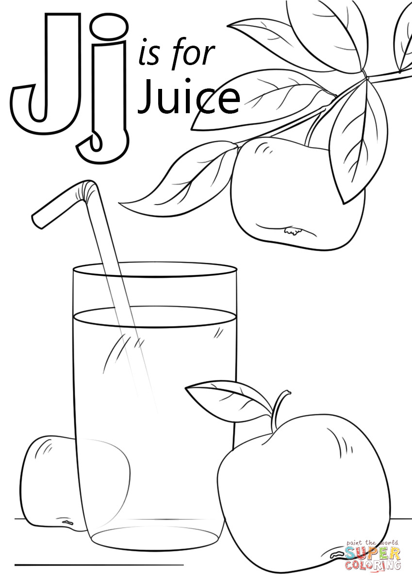 849x1200 Wanted Letter J Coloring Page New Alphabet Line Pages Modokom Com