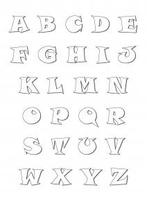 212x300 Alphabet