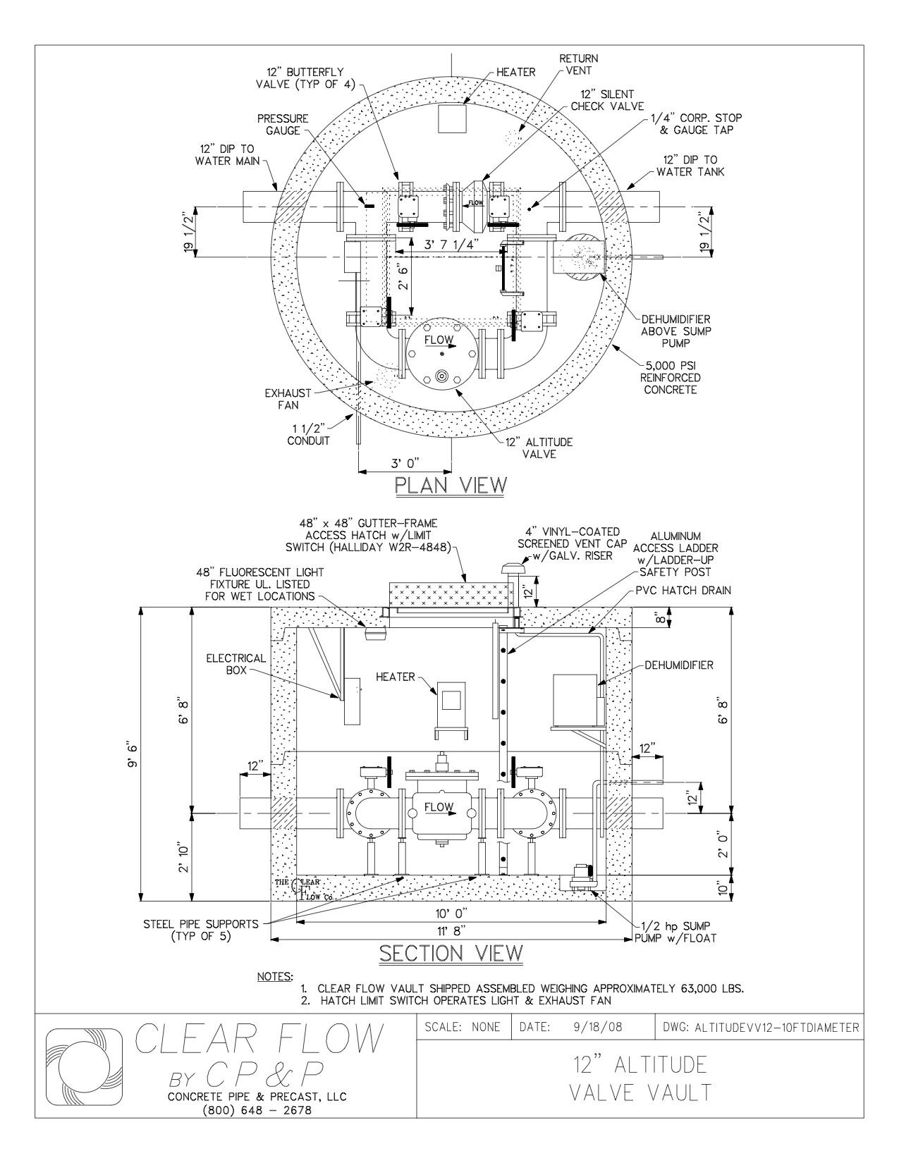 1275x1650 Concrete Pipe Amp Precast Drawings