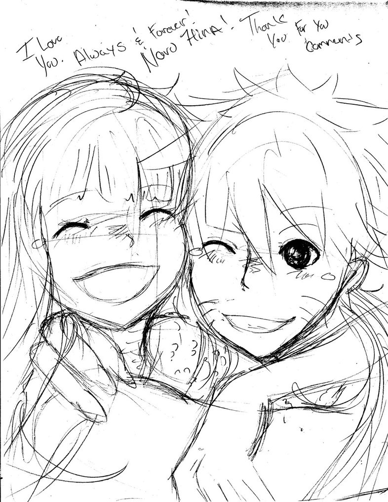 786x1016 Naruhina I Love You Always And Forever By Nelnel Chan