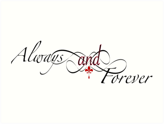 549x413 The Originals Always And Forever Art Prints By Kikkat Redbubble