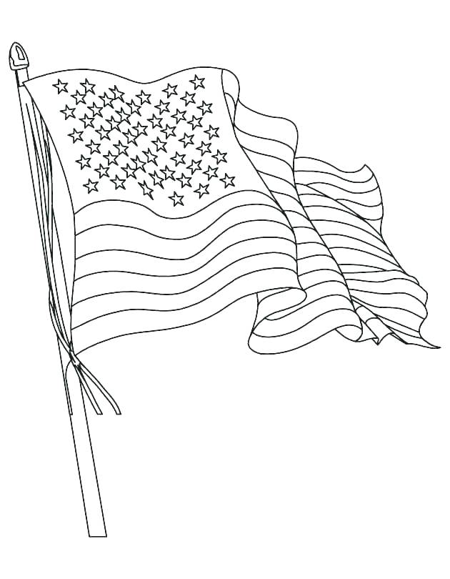 630x810 Coloring Pages Flag Flag Color Page Flag And Eagle Fourth
