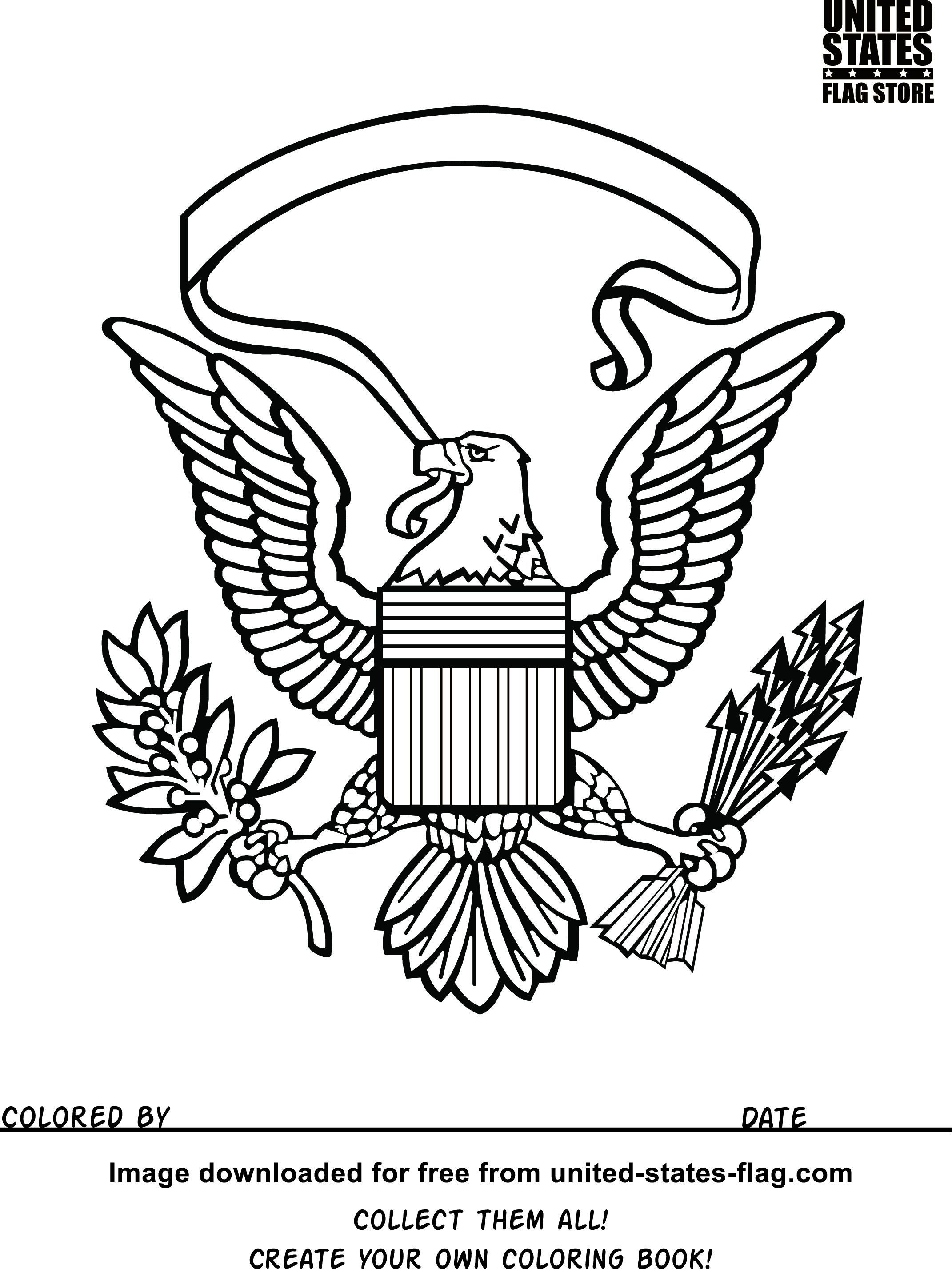 2142x2854 American Flag Eagle Drawing Inspirational American Flag Coloring