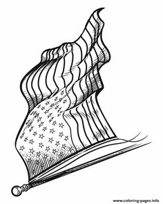 236x295 The American Flag Waves On This Patriotic Printable Letterhead