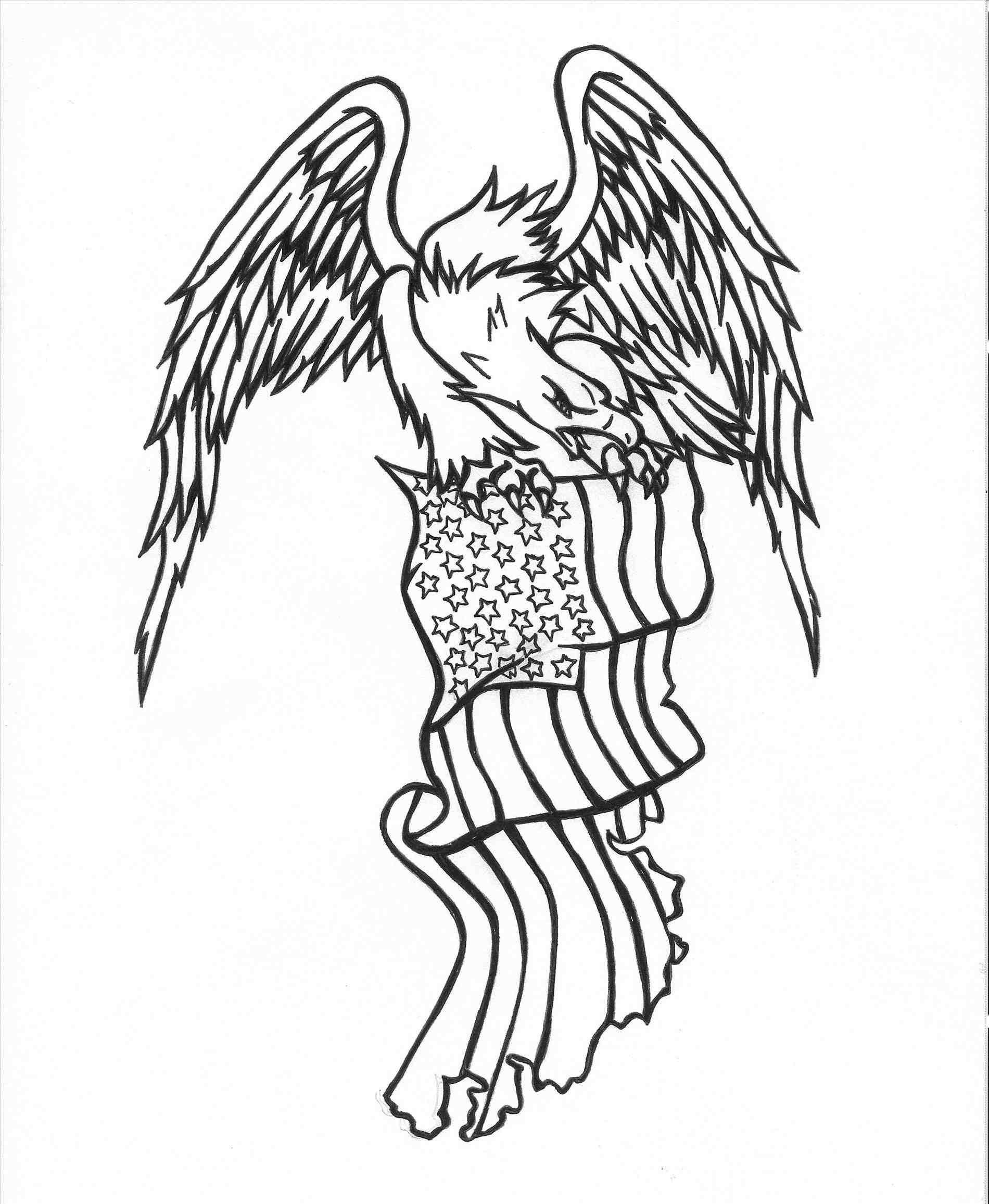 1900x2313 Update American Flag Eagle Drawing 2018 All Met