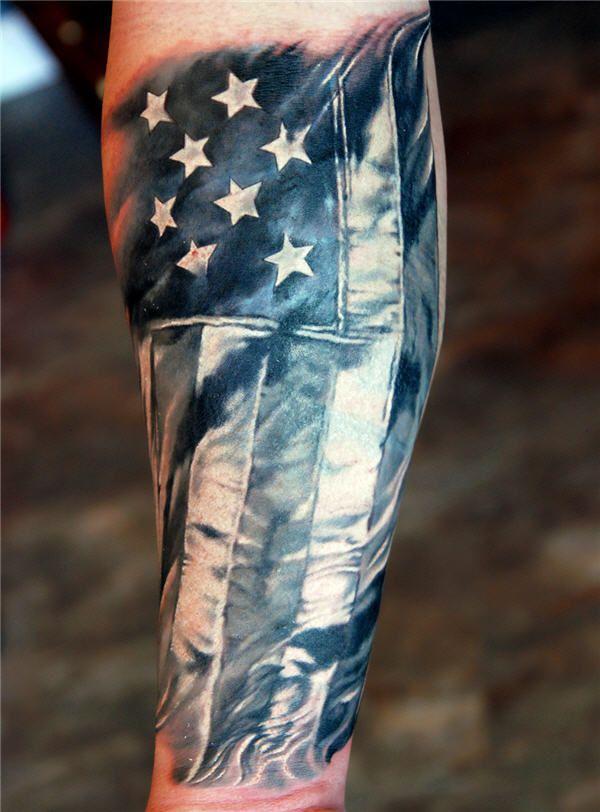 600x812 25 Awesome American Flag Tattoo Designs Tattoo