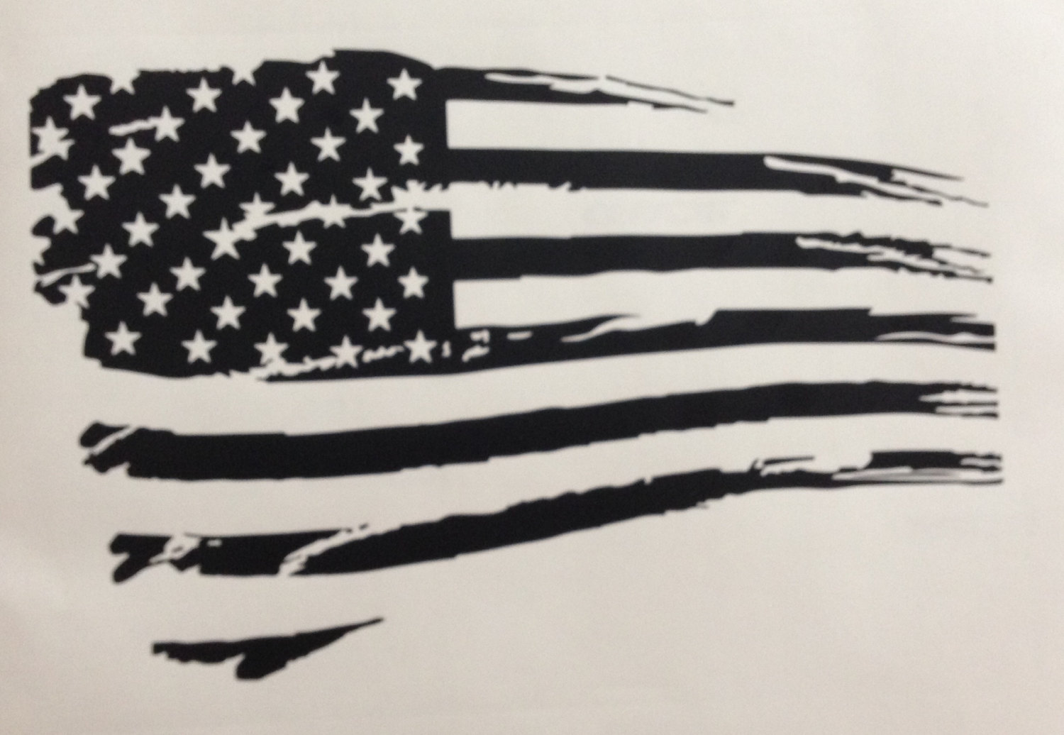 1500x1036 Collection Of Tattered American Flag Black And White Drawing