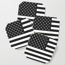 264x264 American Flag Stars And Stripes Black White Coffee Mug By