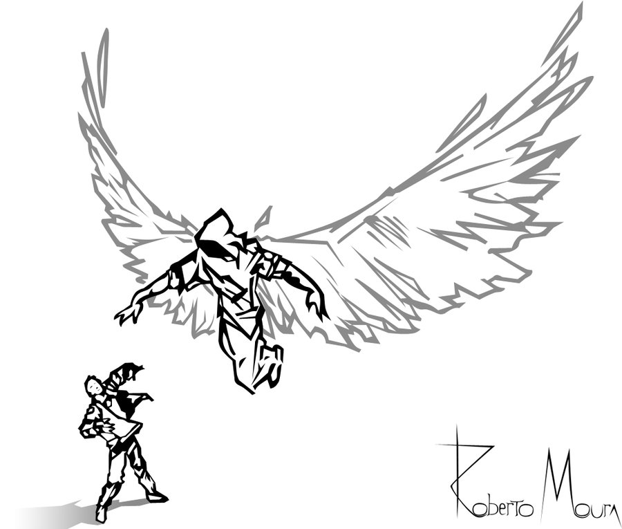 Angel Of Death Drawing At Getdrawings Com Free For Personal Use