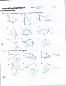 230x300 Worksheet Right Triangle Trigonometry Worksheet Answers Concept