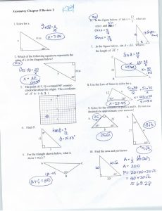 230x300 Worksheet Right Triangle Trigonometry Worksheet With Answers