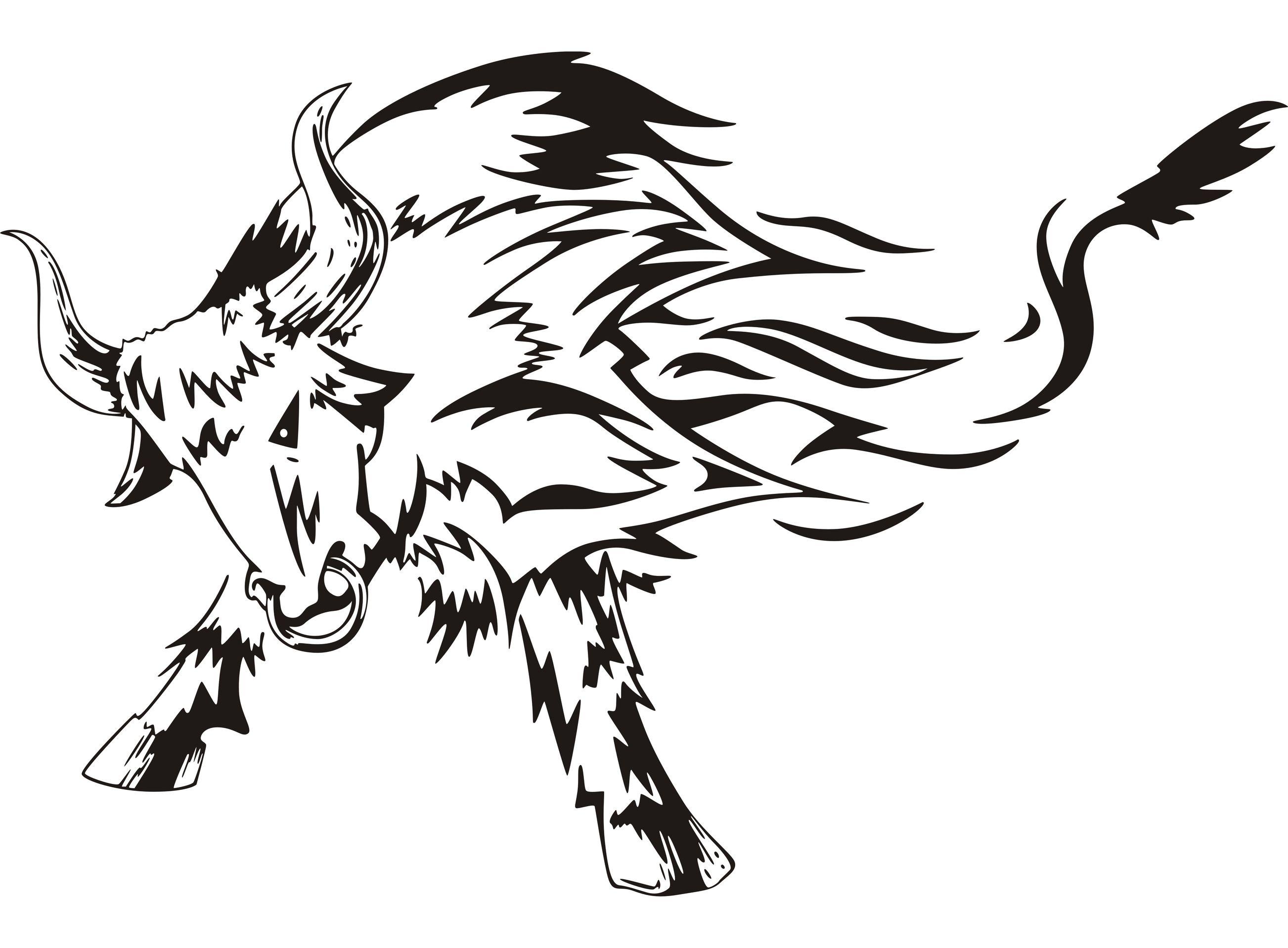 2605x1918 Angry Bull Tattoo.jpg Tattoo Designs