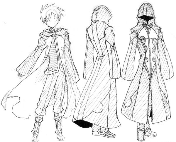 600x483 Cloak, Cape How To Draw Mangaanime How To Draw Mangaanime