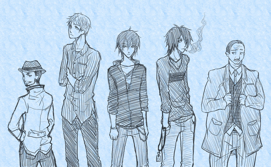 900x554 Collection Of Anime Boy Clothes Drawing High Quality, Free