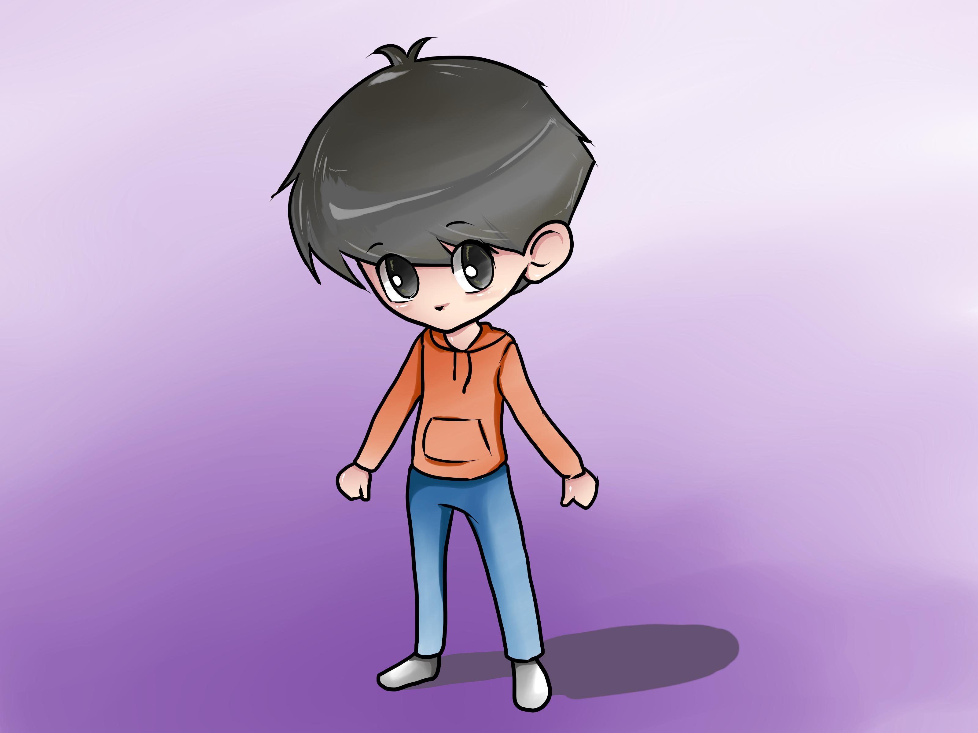 3200x2400 How To Draw A Chibi Boy (With Pictures)