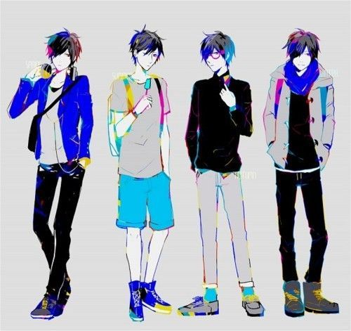 500x471 Image Result For Anime Boy Cool Outfit Anime Anime