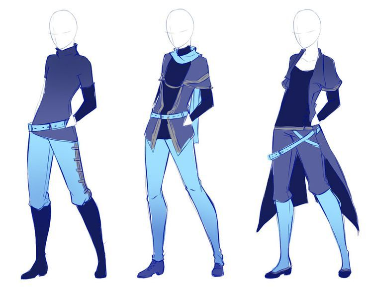 Anime Boy Clothes Drawing at GetDrawings | Free download