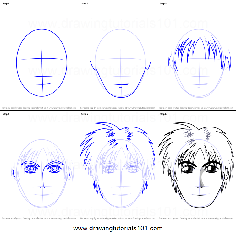 Anime Boy Drawing Step By Step At Getdrawings Com Free For