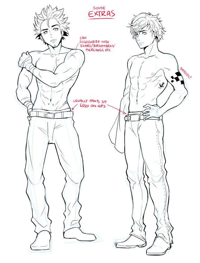643x843 Drawing How To Drawime Boy Sideways With How To Draw