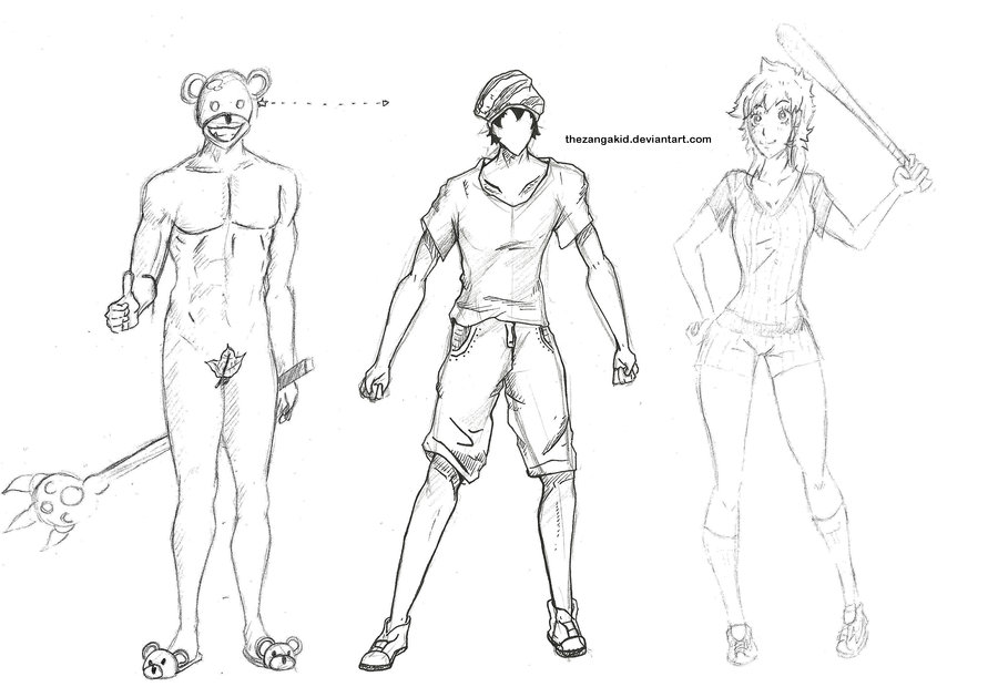900x620 Gallery Full Body Anime Boy Pose,