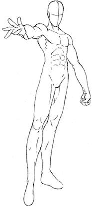 195x415 Male, Body, Boy How To Draw Mangaanime How To Draw Mangaanime