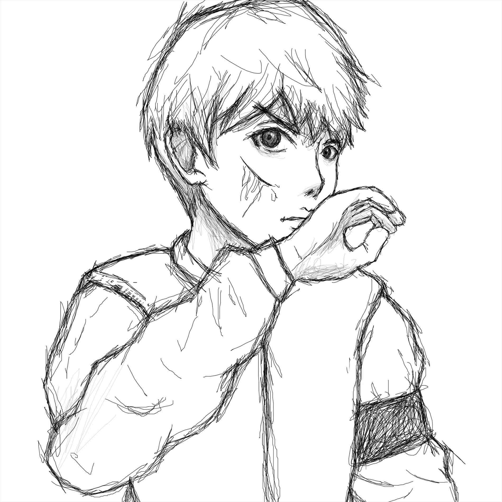 1899x1899 An Step By Body Draw Shonen Step Anime Boy Drawing Nose By Body