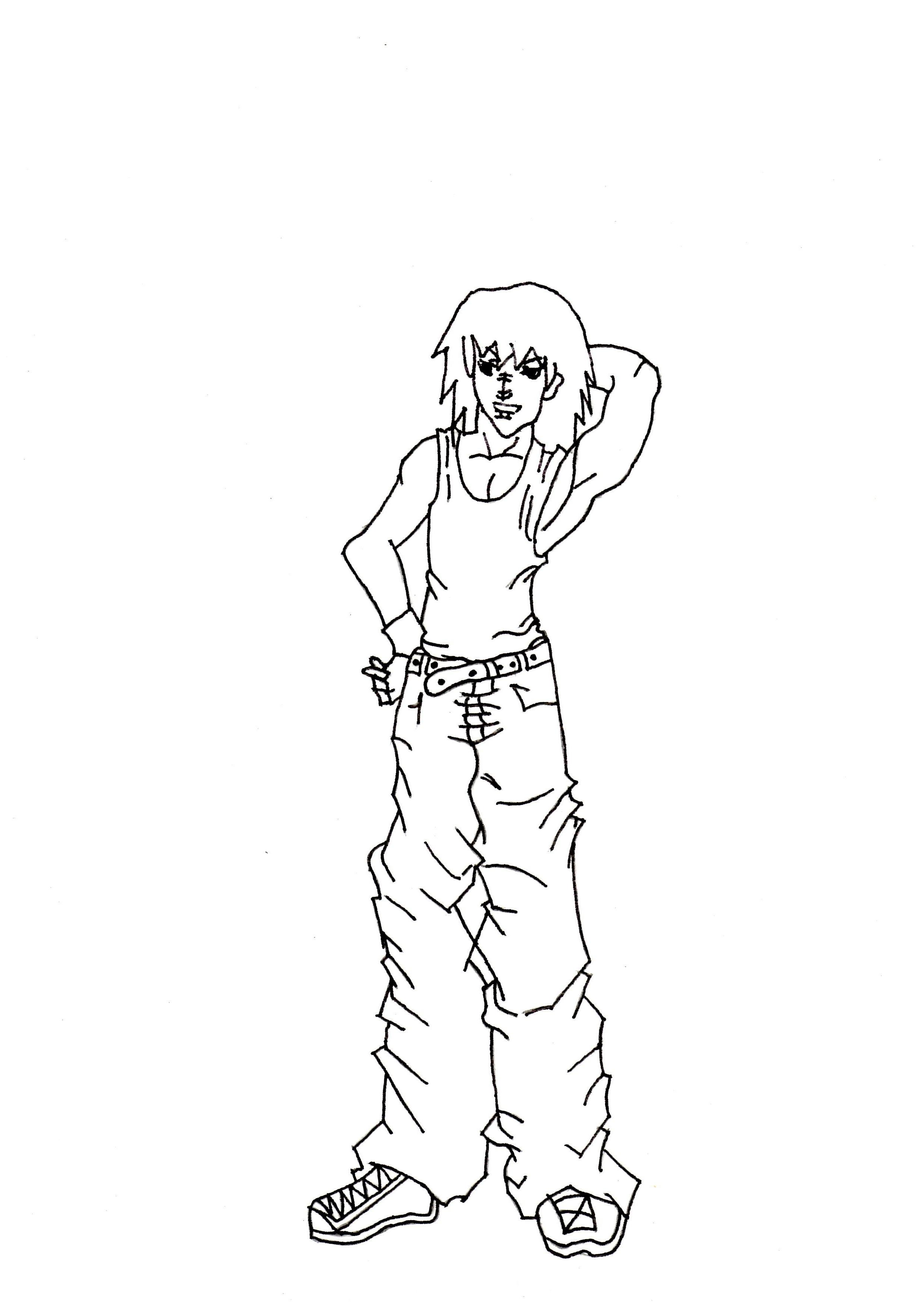 2477x3500 Anime Boy Drawing Full Body Body Pencil Art Drawing