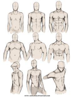 236x311 Male Body Study, Text, Anime Boy, Guy How To Draw Mangaanime