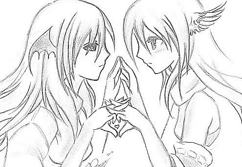Anime Demon Drawing