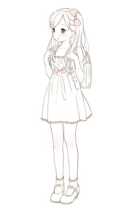 500x841 Kawaii Blog Love Anime Kawaii Chicas Anime