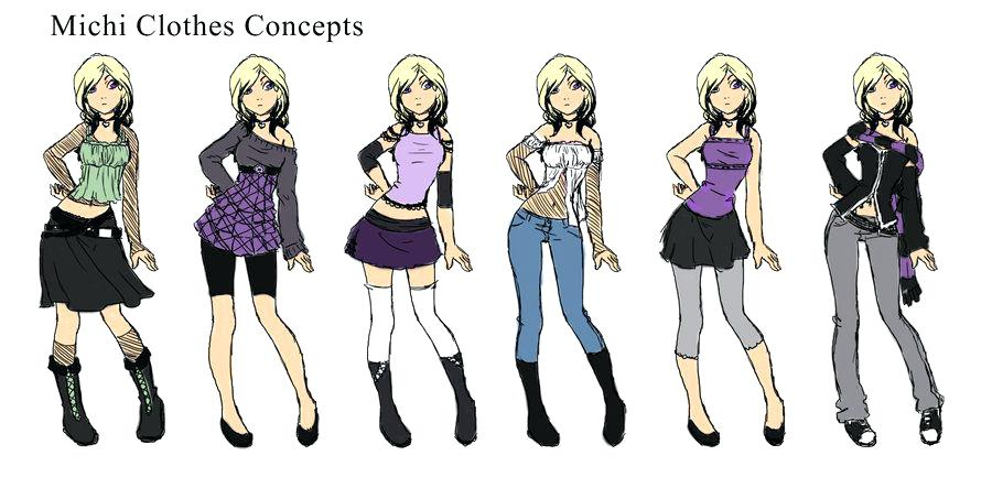 900x433 Anime Girl Clothes Designs By Drawing Getaddr