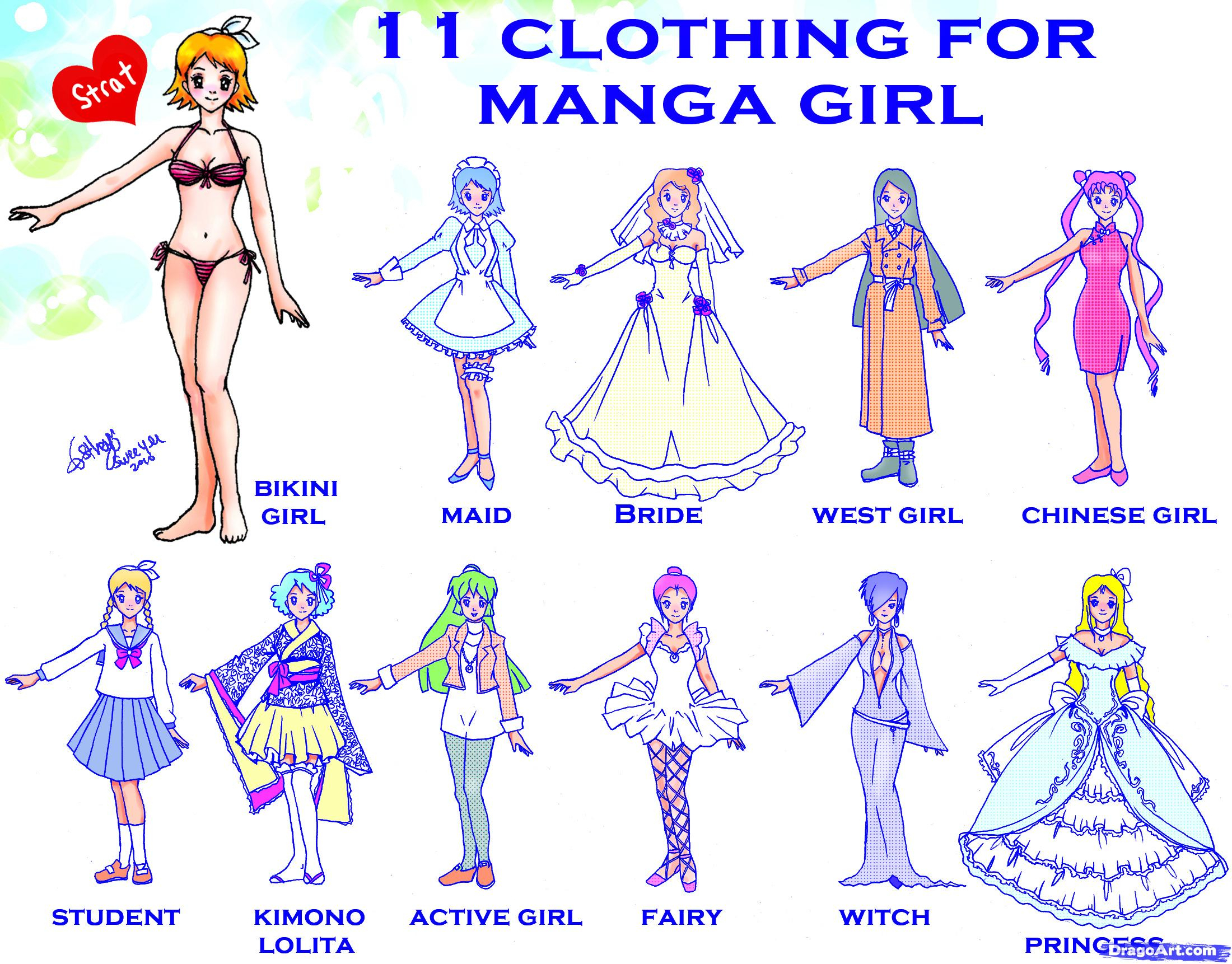 2200x1722 Draw Anime Girl Clothes How To Draw Anime Outfits How To Draw