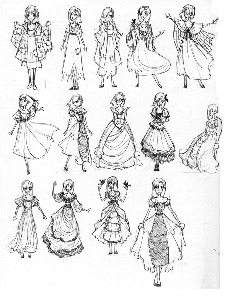 762x1024 Anime Dress Drawing Best Photos Of Anime Clothes Template Anime