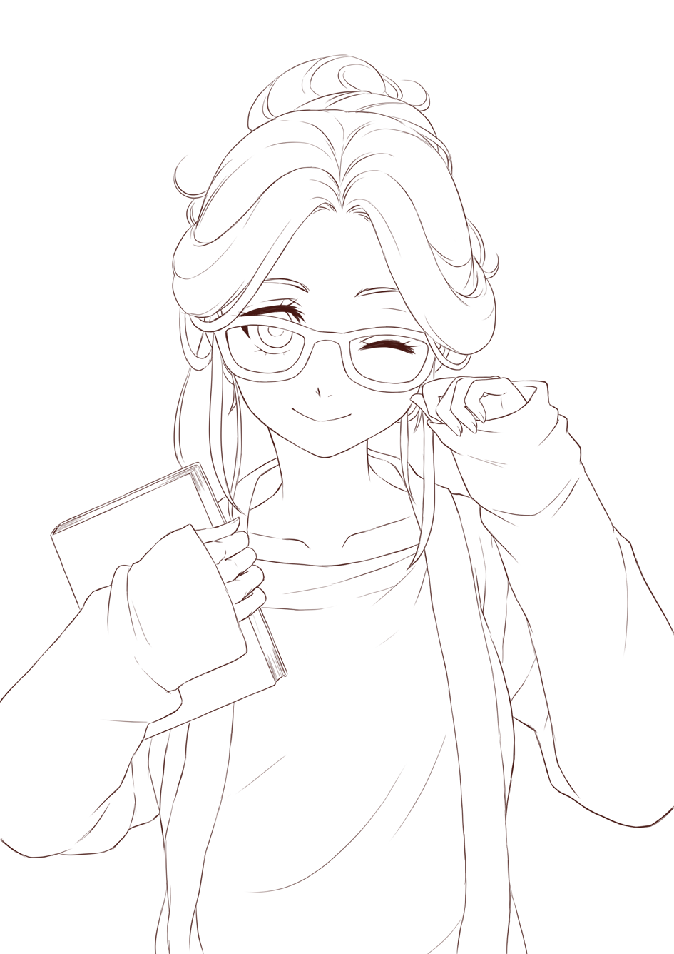 945x1336 Anime Lineart Transparent