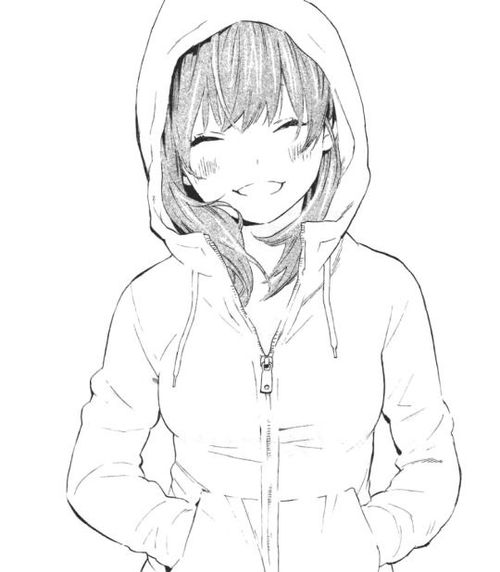 Drawn Girl Smiling Free Download Oasis Dl Co
