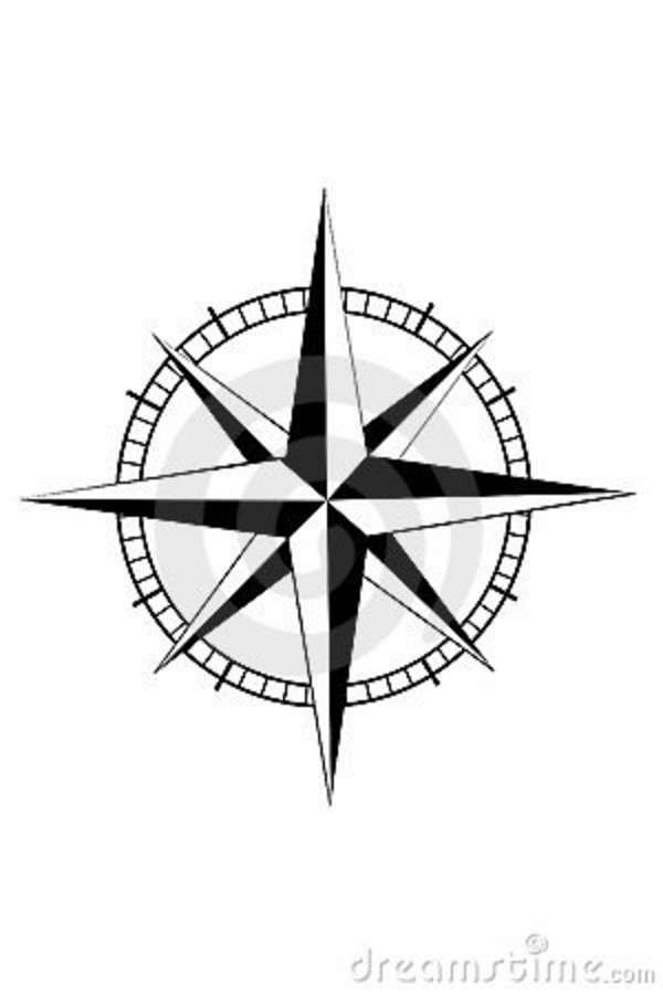 600x900 Nautical Compass For Mom And Dad Tattoo. Place Above Right Arm