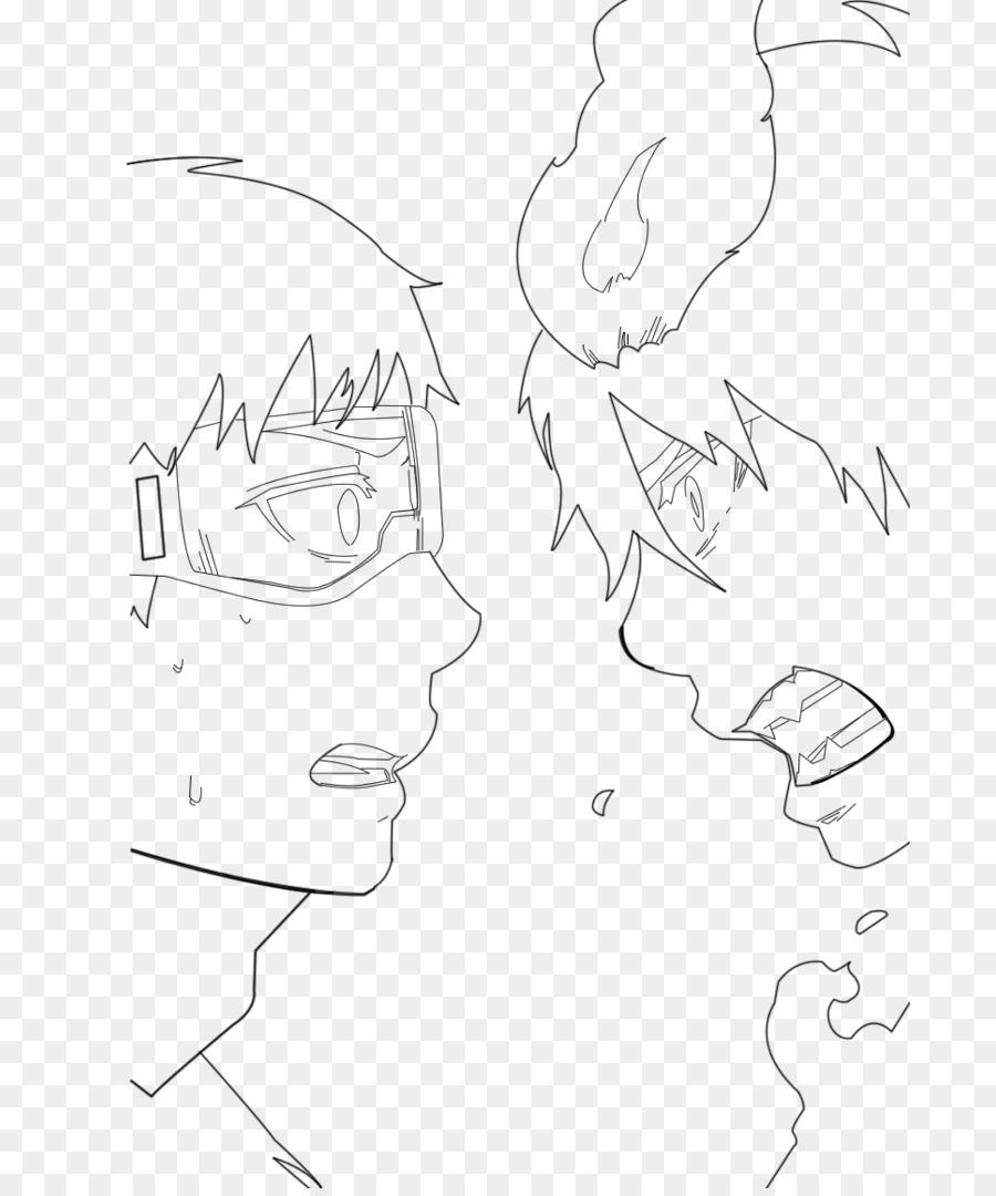 900x1080 Line Art The Breaker Asuna Sketch