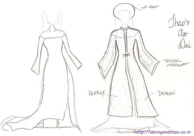 640x448 Collection Of Ao Dai Vietnam Drawing High Quality, Free