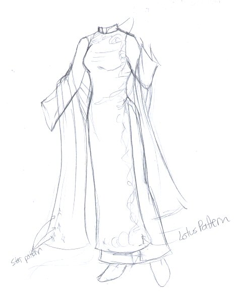 470x585 Collection Of Traditional Ao Dai Drawing High Quality, Free